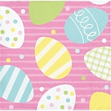 Creative Converting Easter Bunny & Chick Beverage Napkins, 48 Count (DTC335292BNAP)