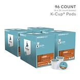 Caribou Blend Coffee, Keurig K-Cup Pods, Medium Roast, 96/Carton (10307)