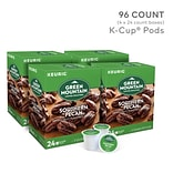 Green Mountain Southern Pecan Coffee, Keurig® K-Cup® Pods, Light Roast, 96/Carton (67726)