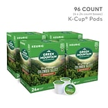 Green Mountain Colombia Select Coffee, Keurig® K-Cup® Pods, Medium Roast, 96/Carton (6003)
