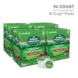 Green Mountain Vermont Country Blend Coffee, Keurig® K-Cup® Pods, Medium Roast, 96/Carton (GMT6602CT