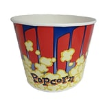 Gold Medal 2134RB 85 oz. Red and Blue Popcorn Cup; Paper, 300/Carton