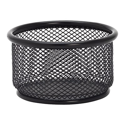 Lorell Mesh Accessories Holder, Black (84150)