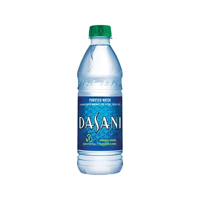 Dasani Water, 16.9 Oz., 24/Carton (00049000031652)