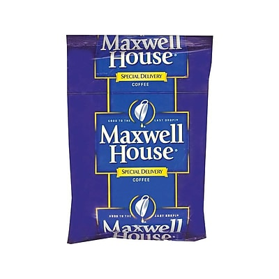 Maxwell House Special Delivery Filter Packs Coffee, Medium Roast, 42/Carton (862400)