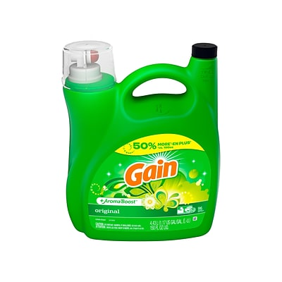 Gain +Aroma Boost Original Detergent Liquid, 150 Oz. (23033)