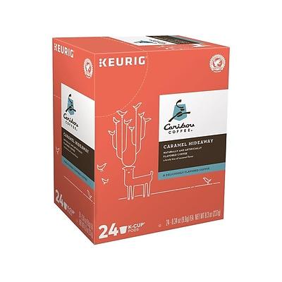Caribou Caramel Hideaway Coffee Keurig K Cup Pods Medium