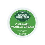 Green Mountain Coffee Roasters Caramel Vanilla Cream Coffee, Keurig® K-Cup® Pods, Light Roast, 24/Bo