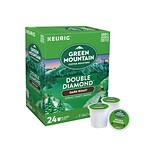 Green Mountain Double Diamond Coffee, Keurig® K-Cup® Pods, Dark Roast, 24/Box (4066)