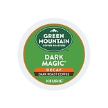 Green Mountain Dark Magic Decaf Coffee, Keurig® K-Cup® Pods, Dark Roast, 96/Carton (504067)