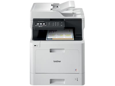 Brother MFC-L8610CDW USB, Wireless, Network Ready Color Laser All-In-One Printer