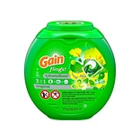 Gain flings! Liquid Laundry Detergent Pacs, Original, 72 count (86792)