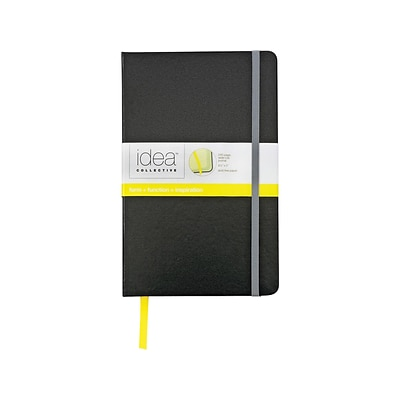 TOPS Idea Collective Journal, 5W x 8.25H Black (TOP 56880)