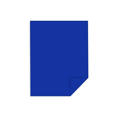 Astrobrights Cardstock Paper, 65 lbs, 8.5 x 11, Blast-Off Blue, 250/Pack (21911)