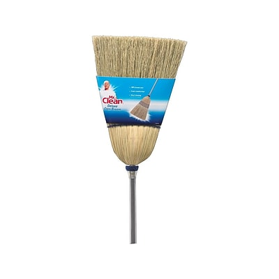 Mr. Clean Deluxe Corn 10.3 Standard Broom (441382)
