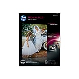 HP Premium Plus Soft Glossy Photo Paper, 8.5 x 11, 50/Pack (CR667A)