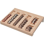 MMF Countex II Coin Tray, 6 Compartments, Sand (221611003)