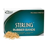 Alliance Sterling Multi-Purpose Rubber Bands, #10, 1 lb. Box, 5000/Box (24105)