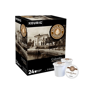 Barista Prima Colombia Coffee, Keurig® K-Cup® Pods, Medium Dark Roast, 24/Box (6613)