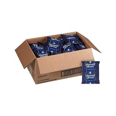 Maxwell House Original Roast Ground Coffee, Medium Roast, 42/Carton (866150)