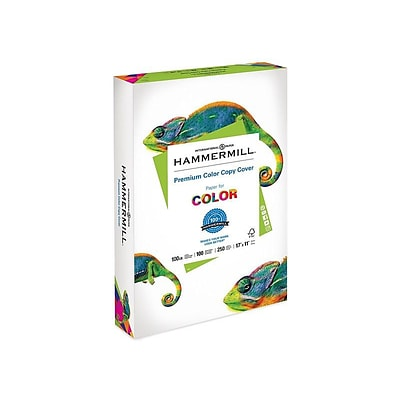 Hammermill Premium Color Copy Paper, 60 lbs, 11 x 17, White, 250/Pack (122556)
