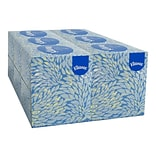 Kleenex Boutique Standard Facial Tissues, 2-Ply, 95 Sheets/Box, 6/Pack (21271)