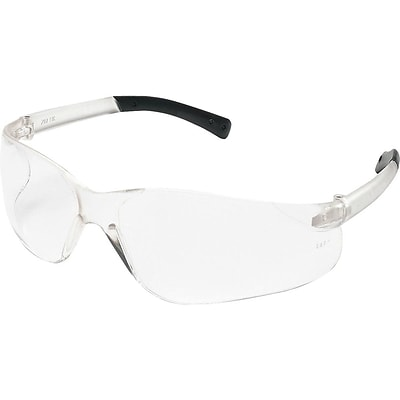 MCR Safety BearKat Polycarbonate Safety Glasses, Clear Lens (BK110)