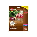 Avery Easy Peel Laser/Inkjet Multipurpose Labels, 1 1/2 x 2 1/2, Glossy White, 18/Sheet, 10 Sheets