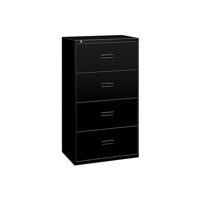 Lateral File 4 Drawers Molded Pull