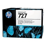 HP 727 DesignJet B3P06A Printhead, Matte Black/Photo Black/Cyan/Magenta/Yellow/Gray