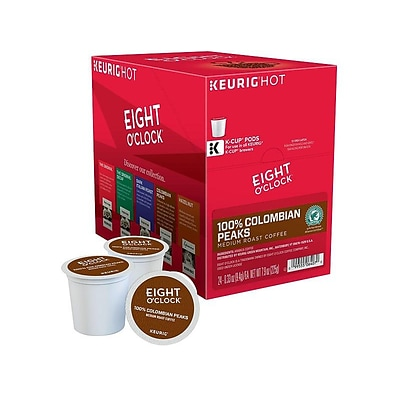 Eight OClock Colombian Peaks Coffee, Keurig® K-Cup® Pods, Medium Roast, 24/Box (6407)