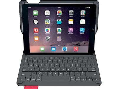 Logitech TYPE+ Keyboard Case for iPad Air 2, Black