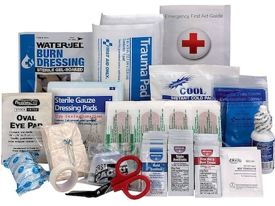 First Aid Only 89 pc. First Aid Kit for 25 People (90583)