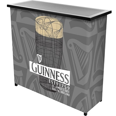 Guinness Portable Bar with Case - Line Art Pint