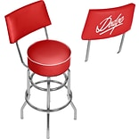 Dodge Bar Swivel Bar Stool with Back - Signature