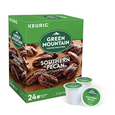 Green Mountain Southern Pecan Coffee, Keurig® K-Cup® Pods, Light Roast, 24/Box (6772)
