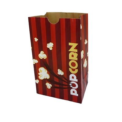 Gold Medal 2232E 130 oz. Eco-Friendly Laminated Popcorn Bag; 500/carton