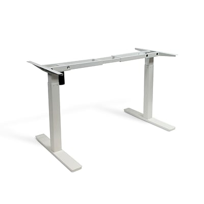 Autonomous SmartDesk - Height-Adjustable Standing Desk - Single Motor - DIY Gray Frame (Table top not included)