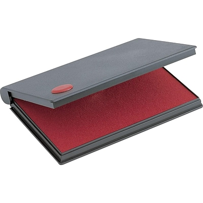 2000 Plus No.1 Stamp Pad, Red Ink (090410)