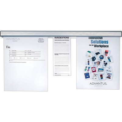 Advantus Grip-A-Strip Display Rail, 8 (2015)