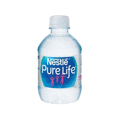 Nestle Pure Life Purified Water, 8 Fl oz. Plastic Bottled Water, 24/Carton (11476087)