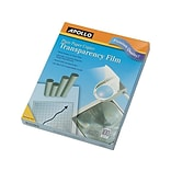 Apollo Transparency Film with Removable Sensing Stripe, 8.5 x 11, 100/Box (PP201C)