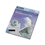 Apollo Transparency Film for Laser Printers, 8.5 x 11, 50/Pack (CG7060)