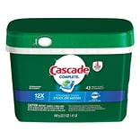 Cascade Complete ActionPacs Dishwasher Detergent Pods, Fresh Scent, 43/Pack (98208)