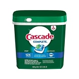 Cascade Complete ActionPacs Dishwasher Detergent Pods, Fresh Scent, 63/Pack (97720)