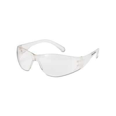 MCR Safety Checklite Polycarbonate Safety Glasses, Clear Lens, 12/Box (CL010)