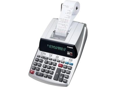 Canon MP11DX 2 2198C001 12 Digit Desktop Calculator, Silver