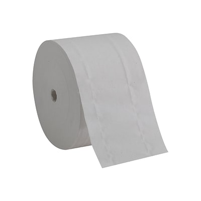 Compact 2-Ply Coreless Toilet Paper, White, 1500 Sheets/Roll, 18 Rolls/Carton (19378)
