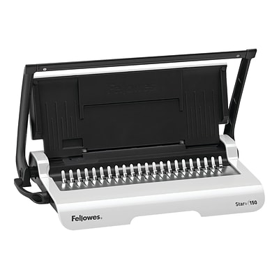Fellowes Star+ Comb Binding Machine, 150 Sheet Capacity (5006501)