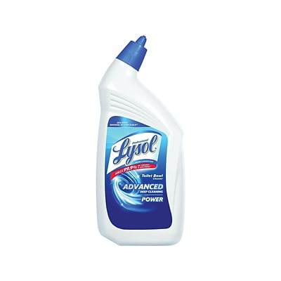 Professional Lysol Advanced Deep Cleaning Power Toilet Bowl Cleaner, Wintergreen, 32 Oz. (36241-74278)